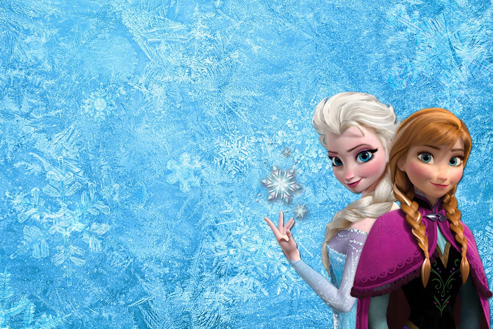 Films   Frozen Anna Elsa Frozen Wallpaper 1600x1068
