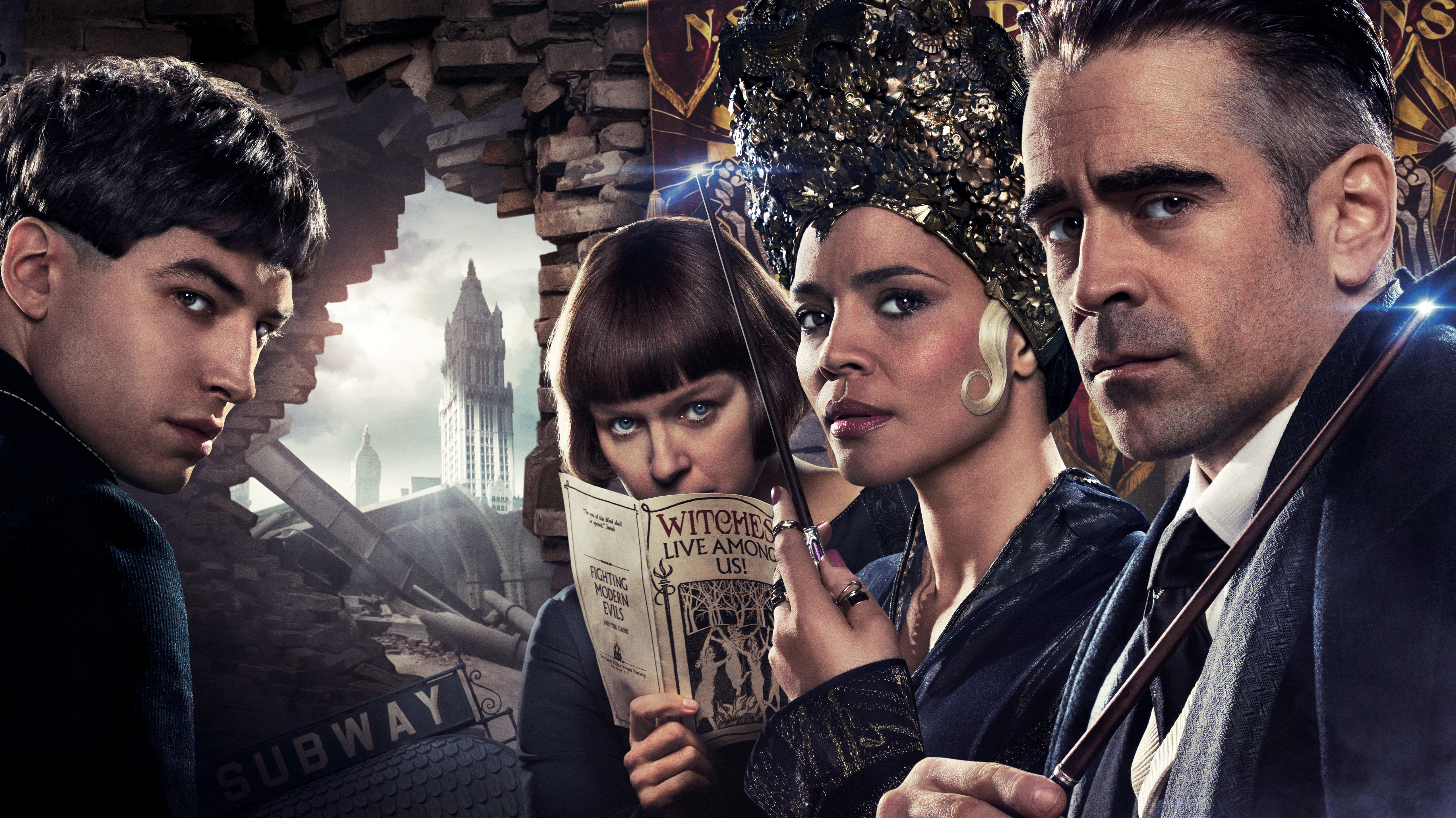 19 Fantastic Beasts and Where to Find Them HD Wallpapers 5120x2880