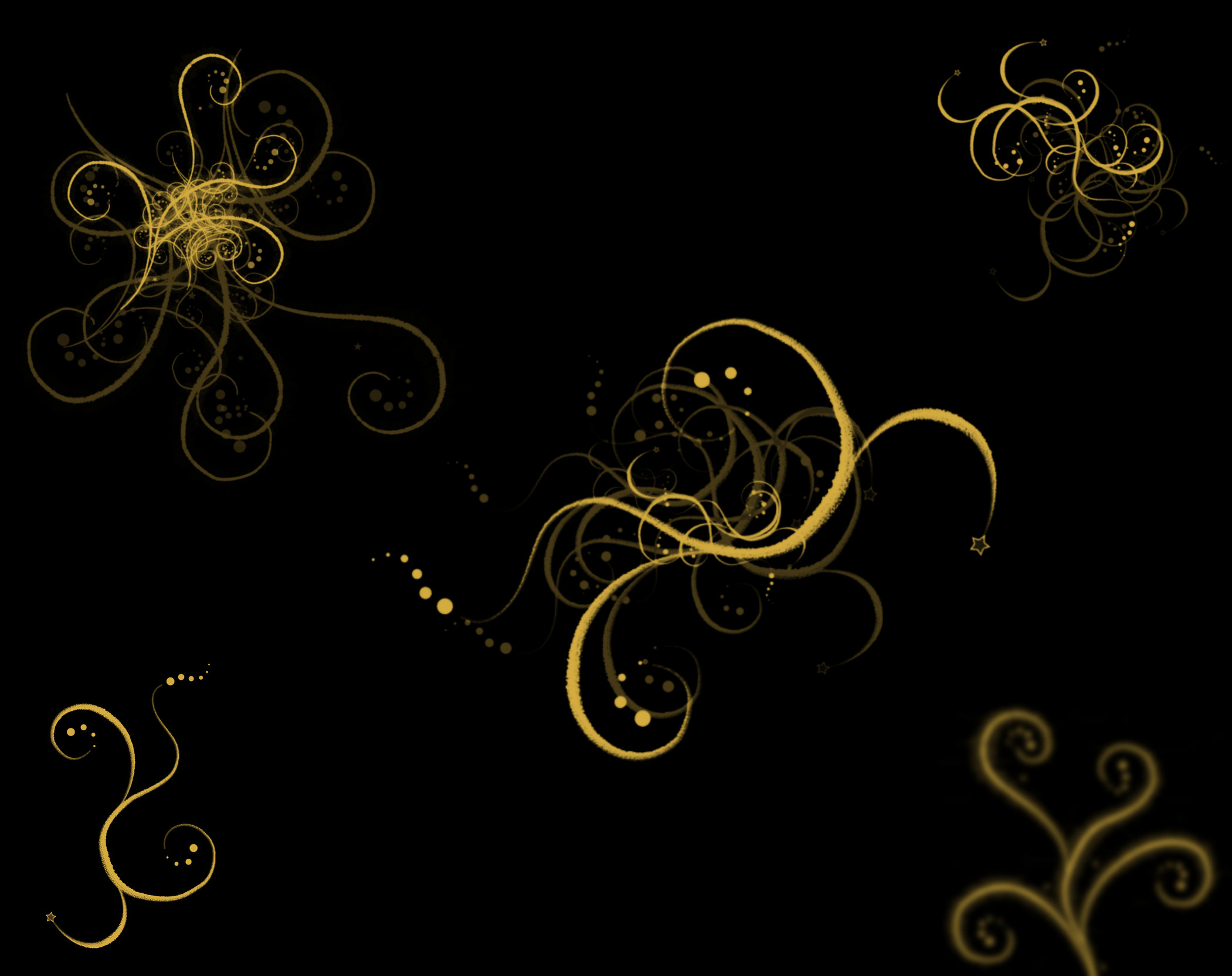 Abstract Iphone 5 Design Backgournd Mobile Black And Gold Wallpaper 2101x1664