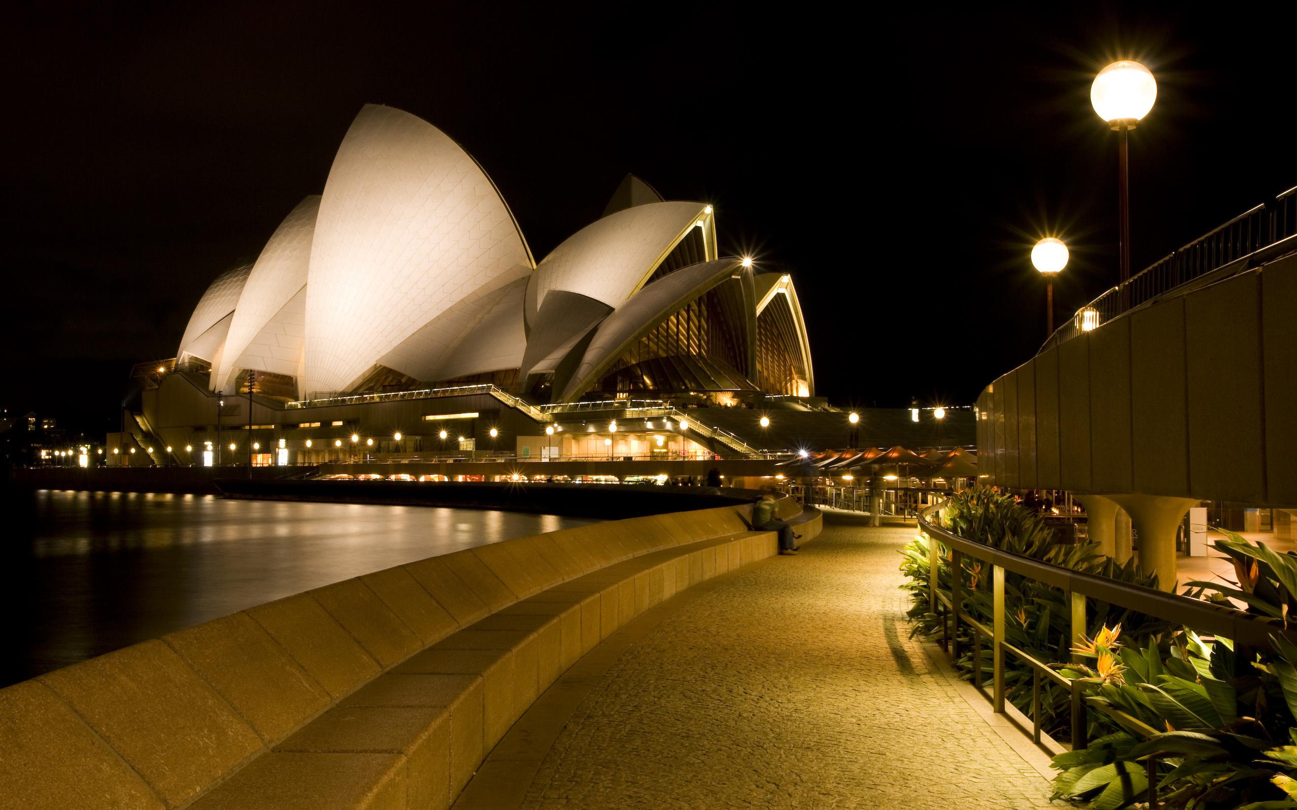 Sydney Opera House 1 Wallpaper 2560x1600 widescreen wallpapersde 2560x1600