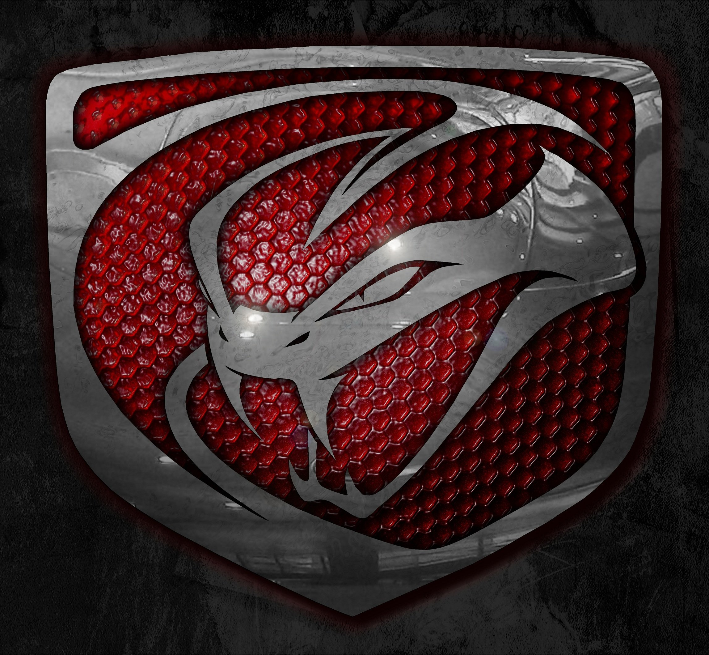 Red viper snake logo - photo#1