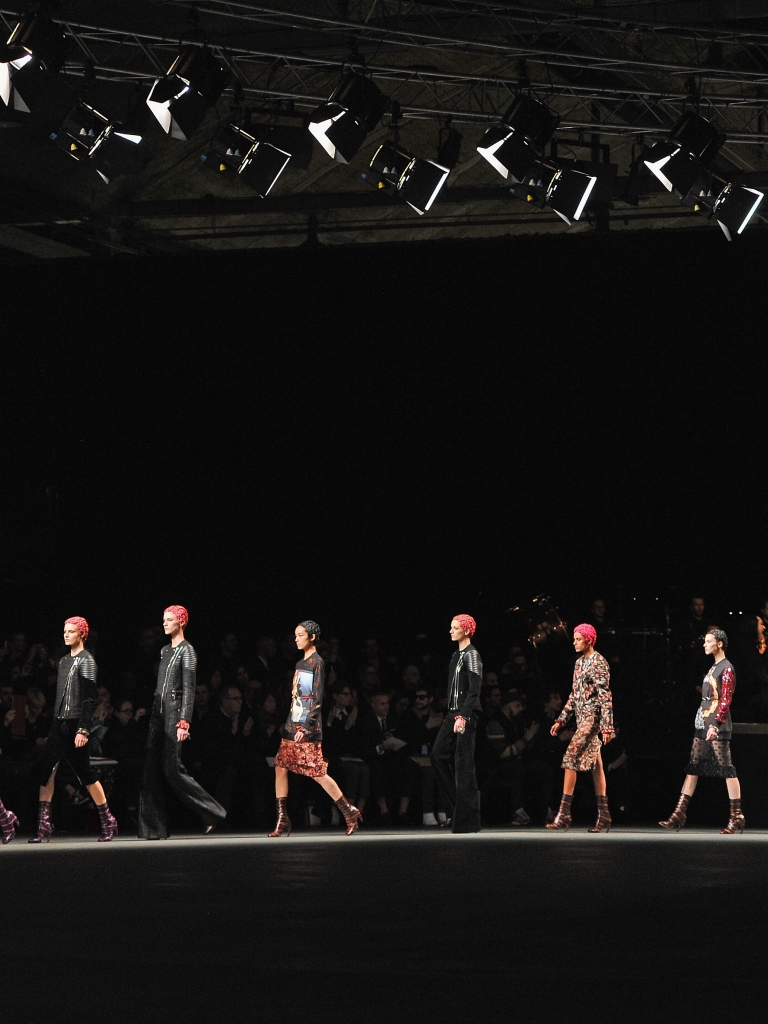 download Givenchy fashion show wallpapers and images 768x1024