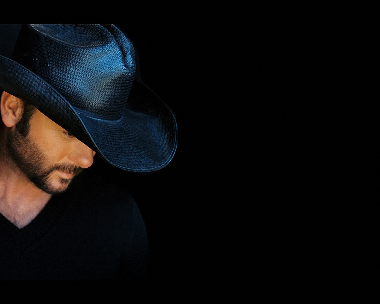 Tim McGraw In Black Hat 1280x1024 Wallpapers 1280x1024 Wallpapers 1280x1024