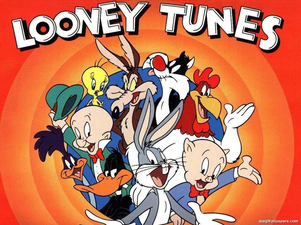 Download Cartoons wallpaper Looney Tunes 1024x768