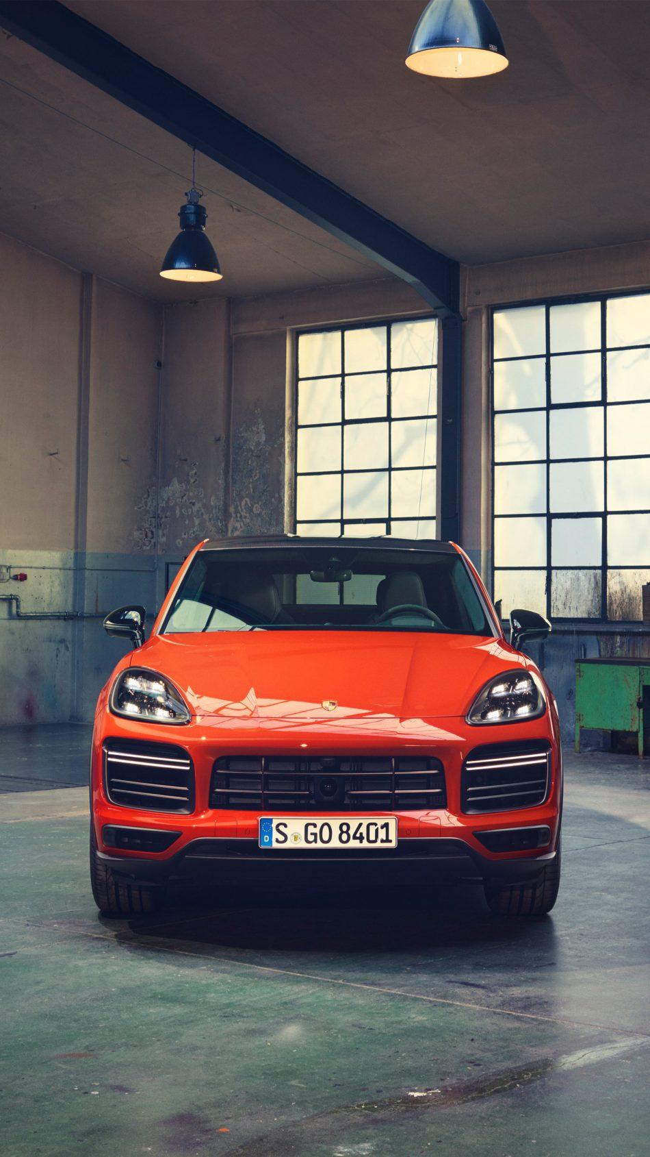 Download Porsche Cayenne Turbo Coupe 2019 Pure 4K Ultra HD 950x1689