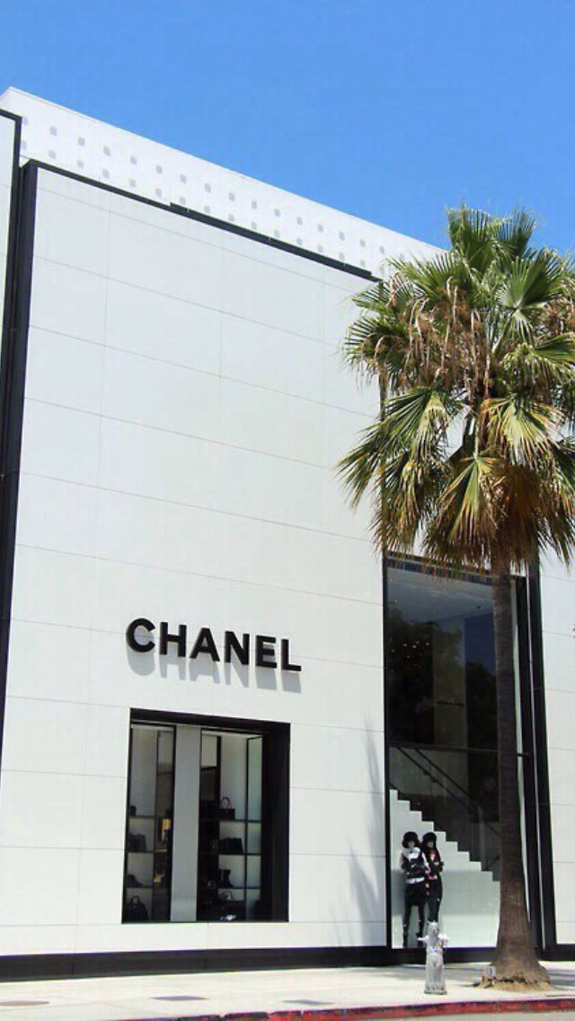 Chanel shop iphone wallpaper iPhone wallpaper Pinterest 640x1136