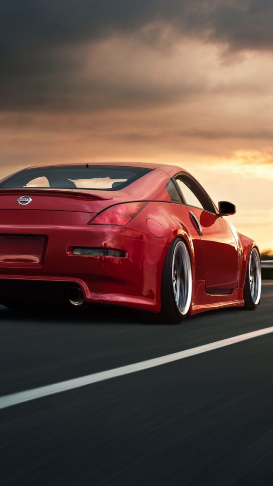 Nissan 350Z Red iPhone 6 6 Plus and iPhone 54 Wallpapers 540x960