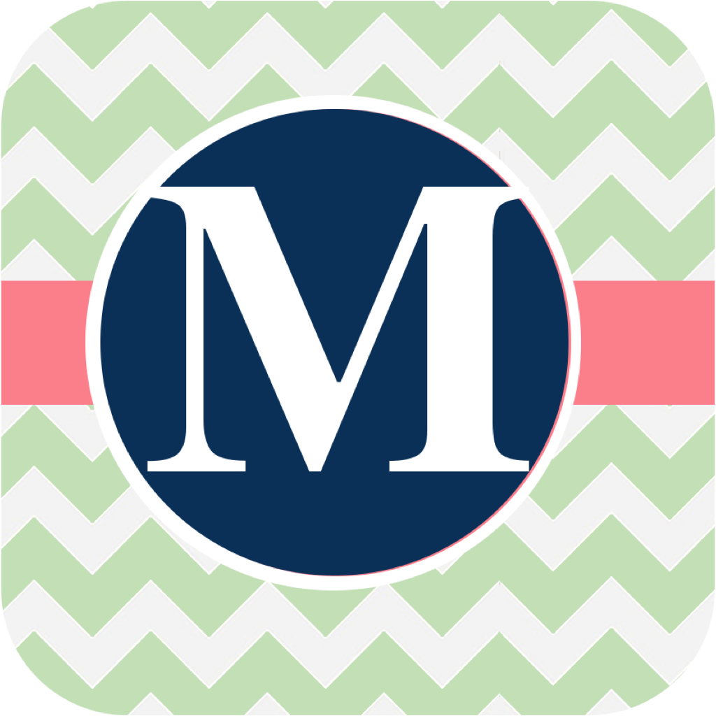 Monogram Maker   Customizable Wallpapers and Lockscreens on the App 1024x1024