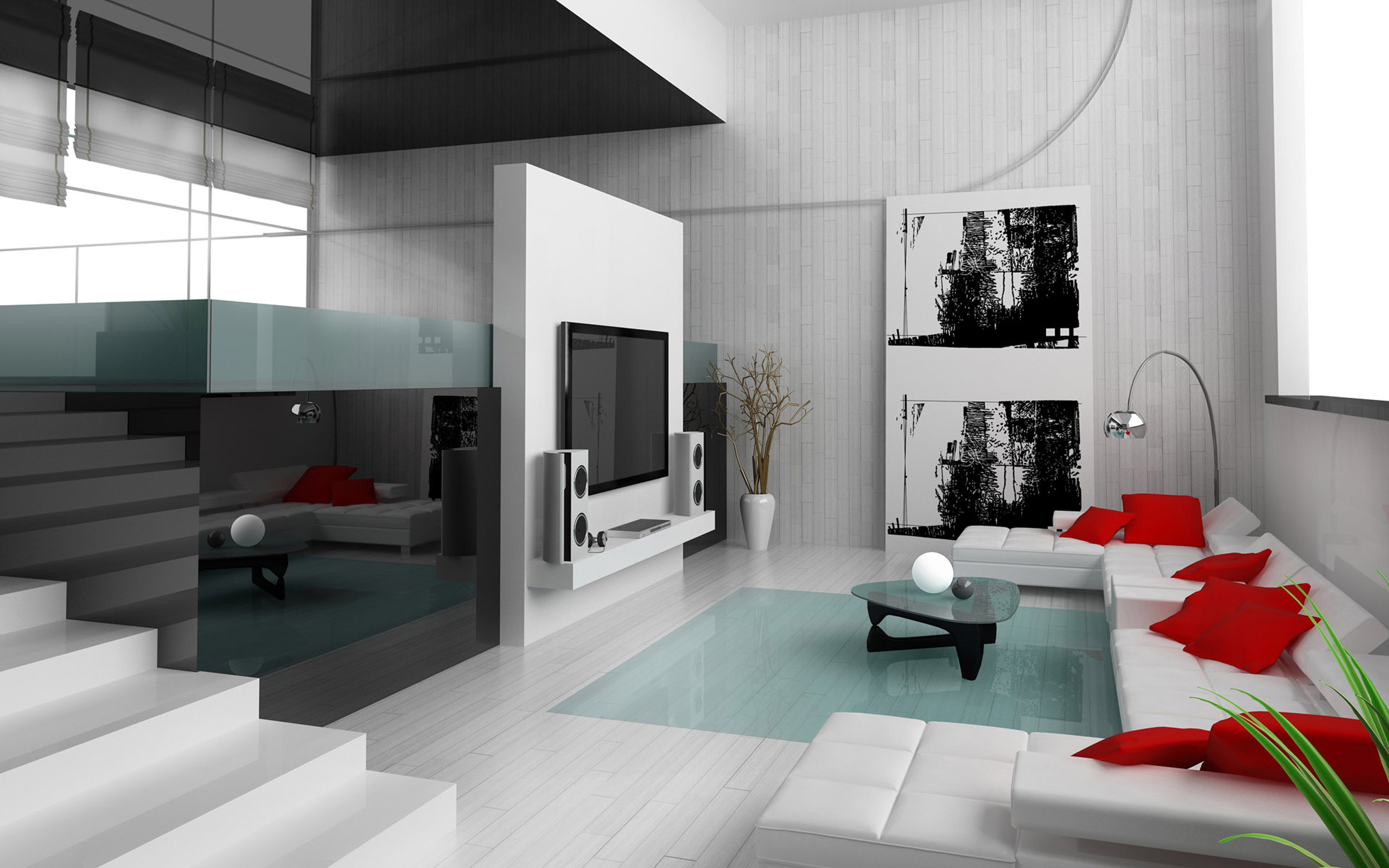 Home interior modern house interior design design house wallpaper home 2560x1600