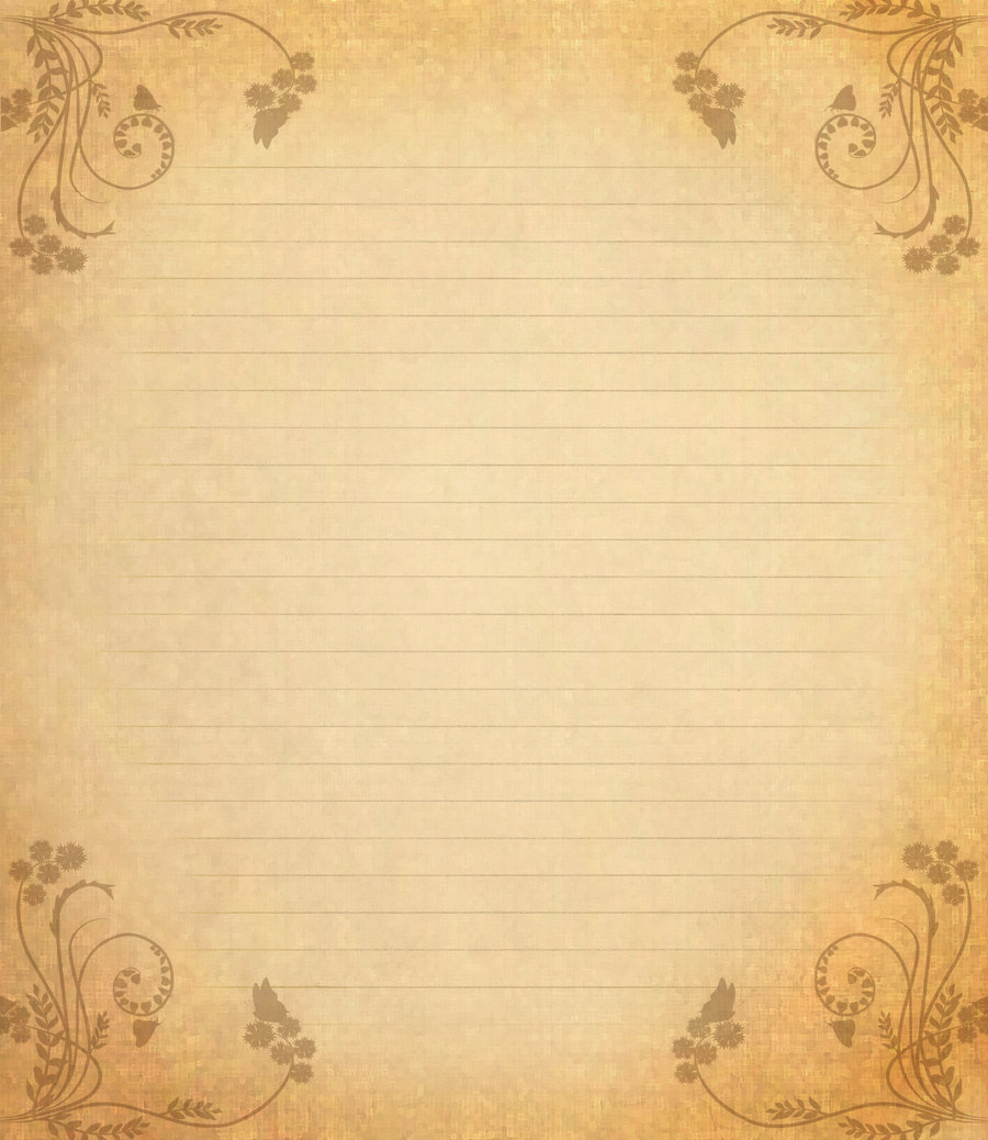 Love Letter Paper Letter paper x by spidergypsy 900x1038