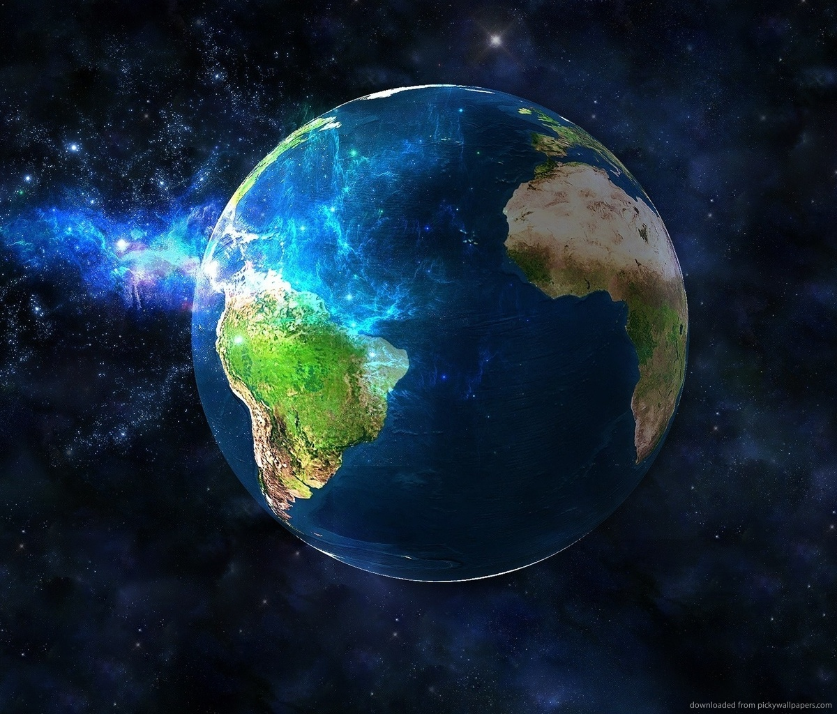 Download 3D Earth Wallpaper For Samsung Galaxy Tab 1200x1024