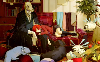 The Ancient Magus Bride Full HD Wallpaper and Background 350x219