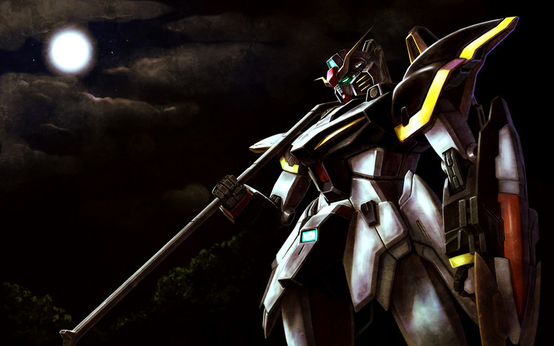 Gallery Mobile Suit Gundam Wing Artbooks Gundam Deathscythe 790x494