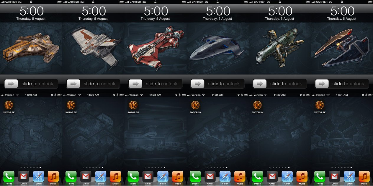Star Wars The Old Republic Starship Wallpapers by InterestingJohn on 1264x632