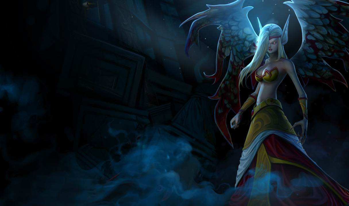morgana now fights in the league of legends but only with the goal of 1215x717