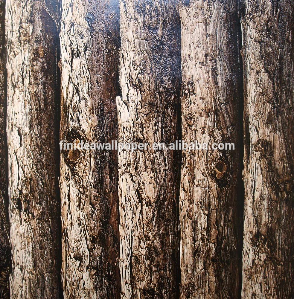 3D natural wood wallpaper stone wallpaper for deco 983x1000