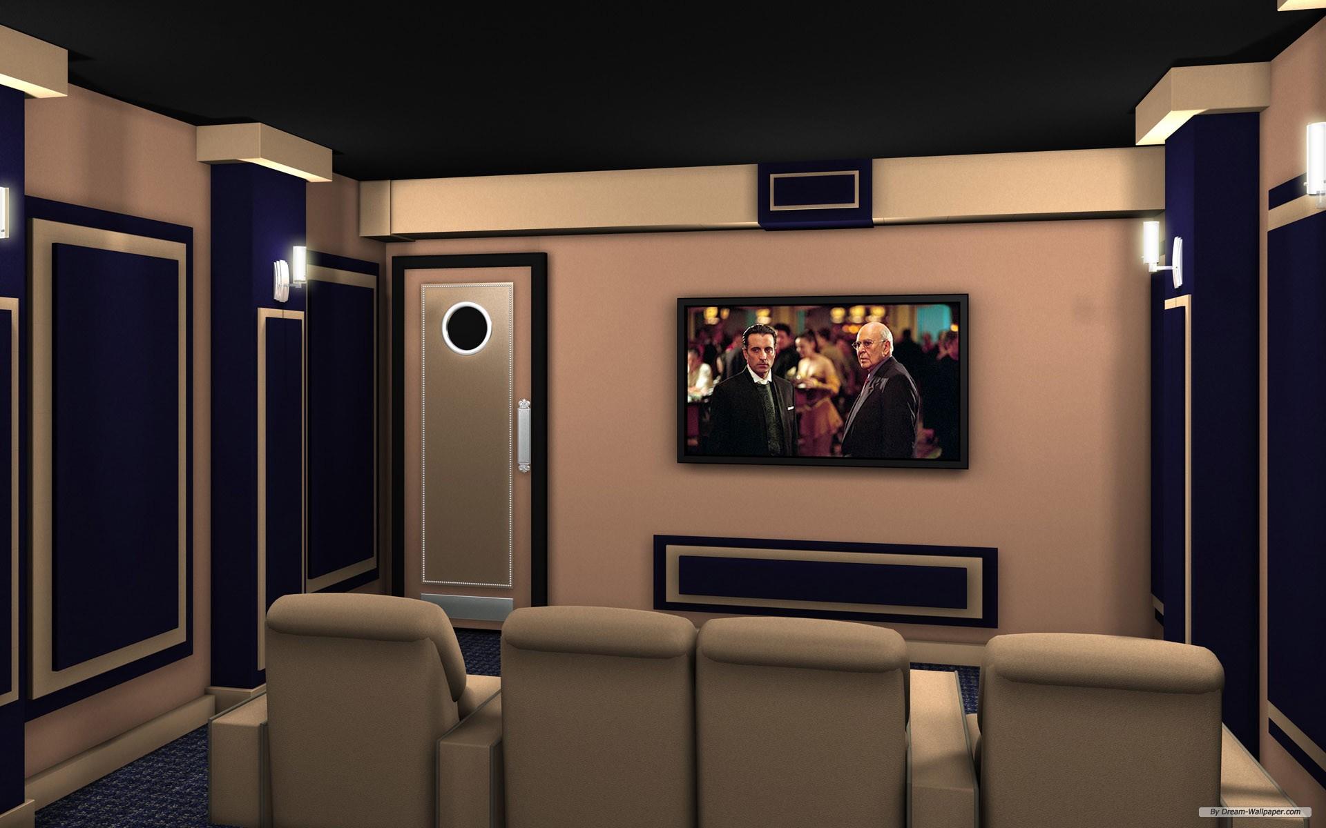home theatre wallpaper free - photo #12