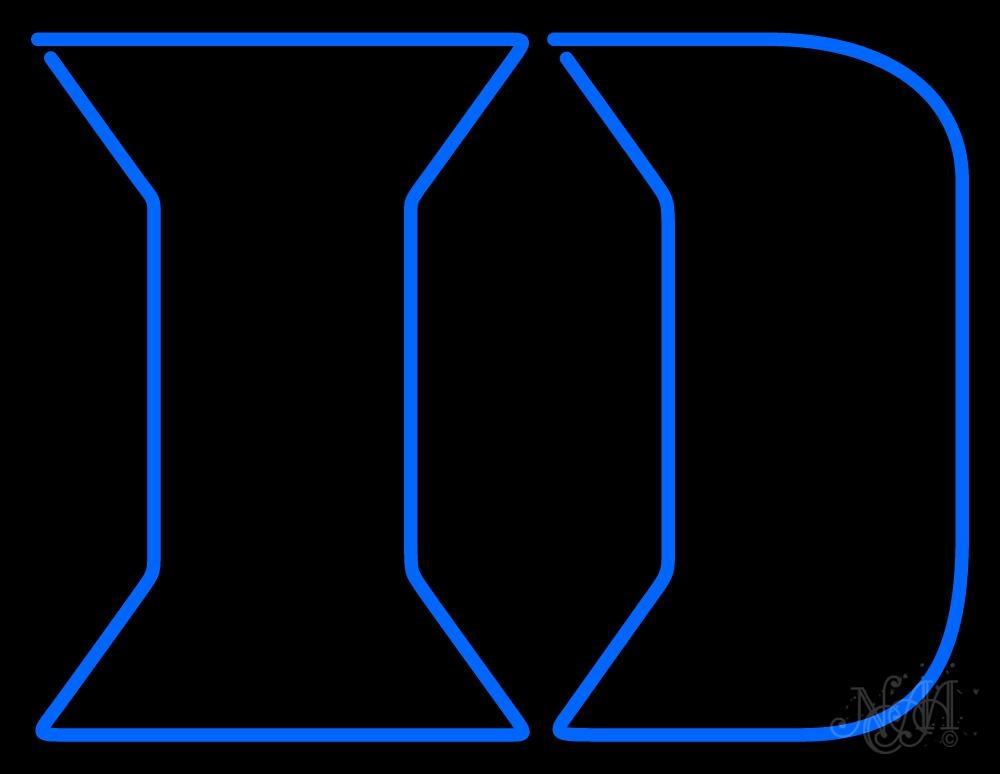 Duke Blue Devils Ncaa Neon 1000x774