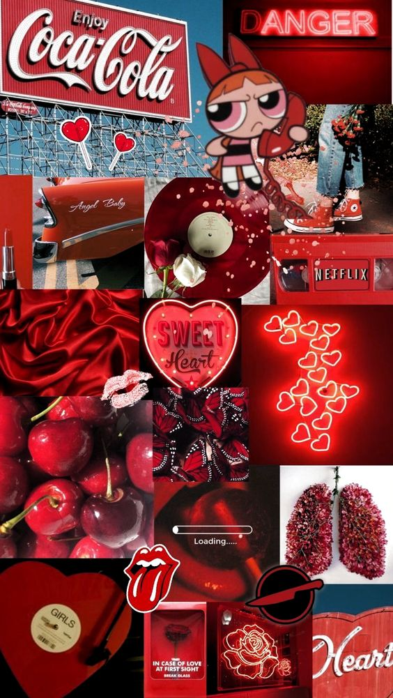 Aesthetic Red Wallpapers Page 3 Cool Backgrounds 564x1001