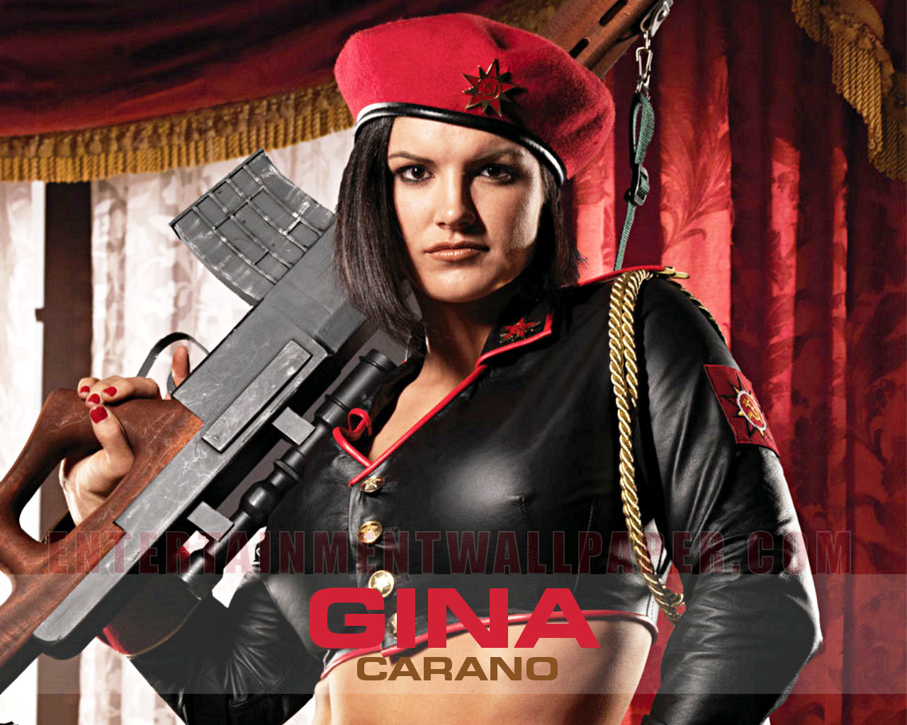 Gina Carano Desktop Wallpaper - WallpaperSafari