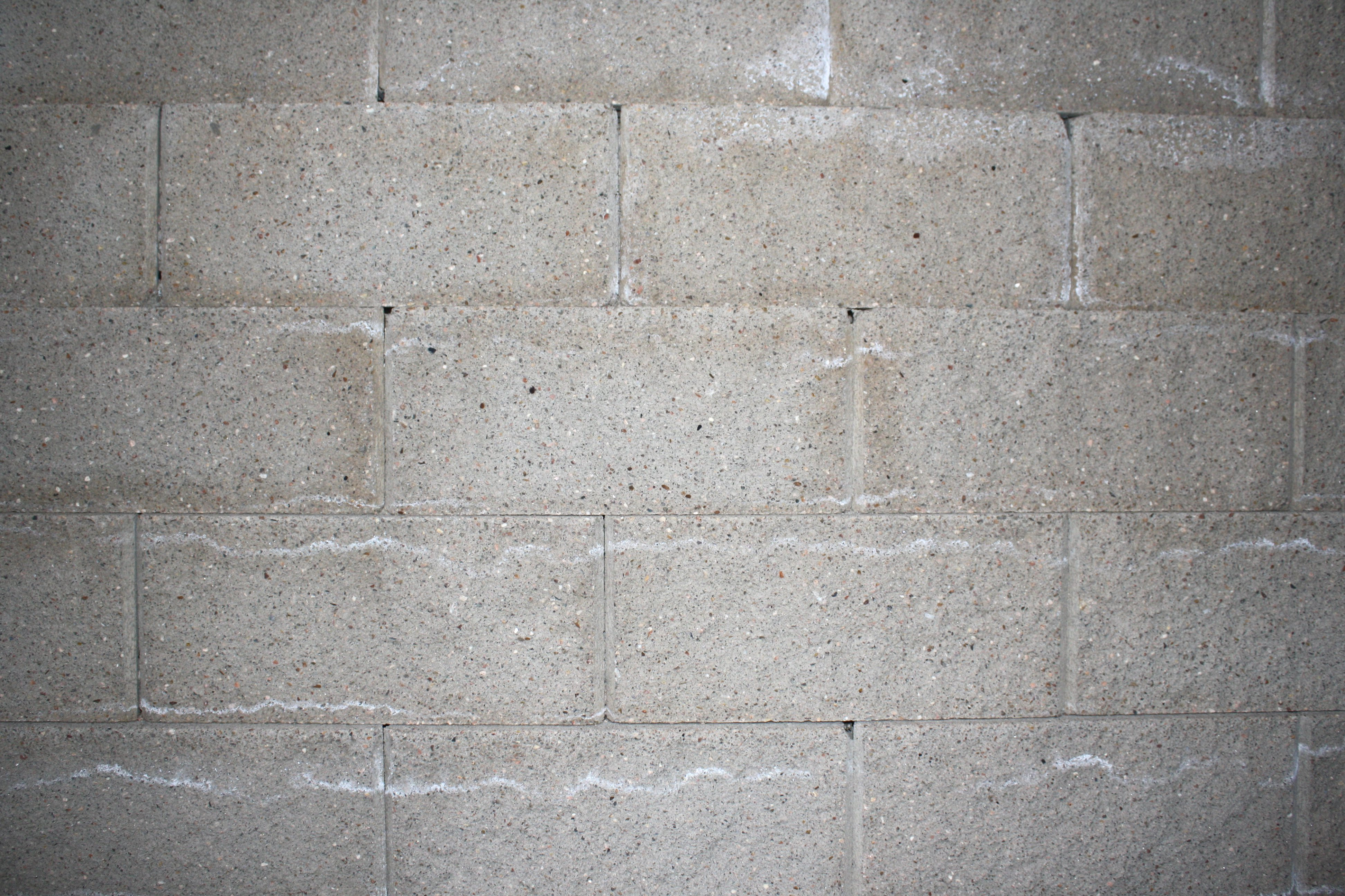 Gray Concrete or Cinder Block Wall Texture Picture Photograph 3888x2592
