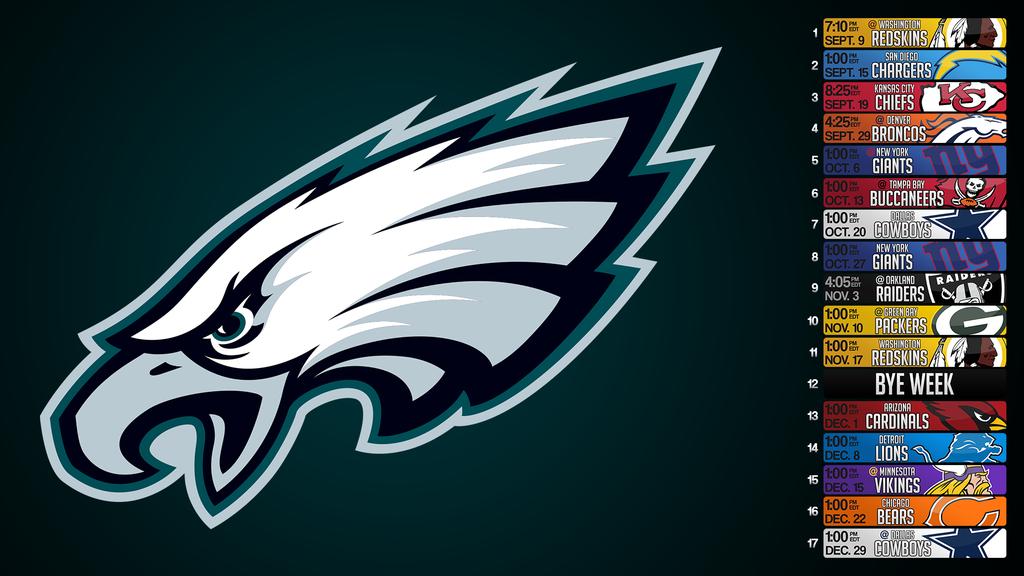 Philadelphia Eagles Schedule Wallpaper