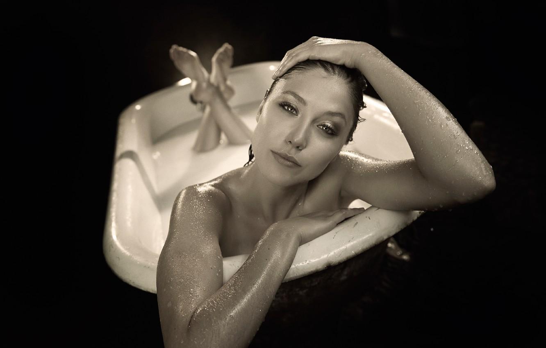 Wallpaper actress bath TJ Scott Sidney Leader Sidney Leeder 1332x850