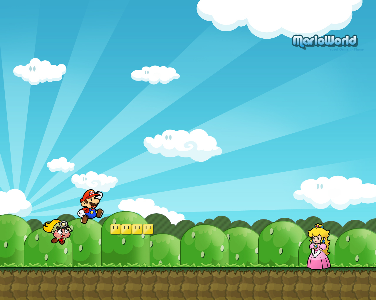 Kleurplaten Mario Galaxy 2.Free Download Mario Wallpaper Super Mario Bros Wallpaper