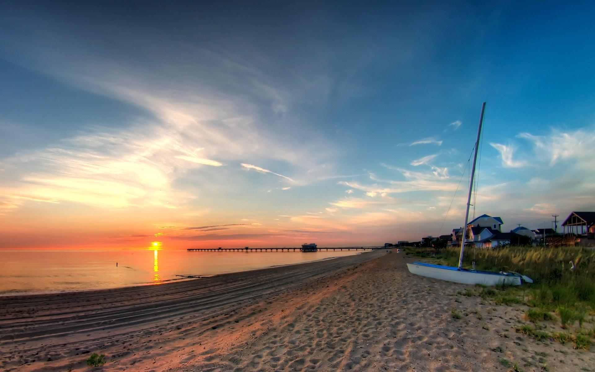 Ocean View Sunrise 1920x1200 #2192 HD Wallpaper Res: 1920x1200 ...