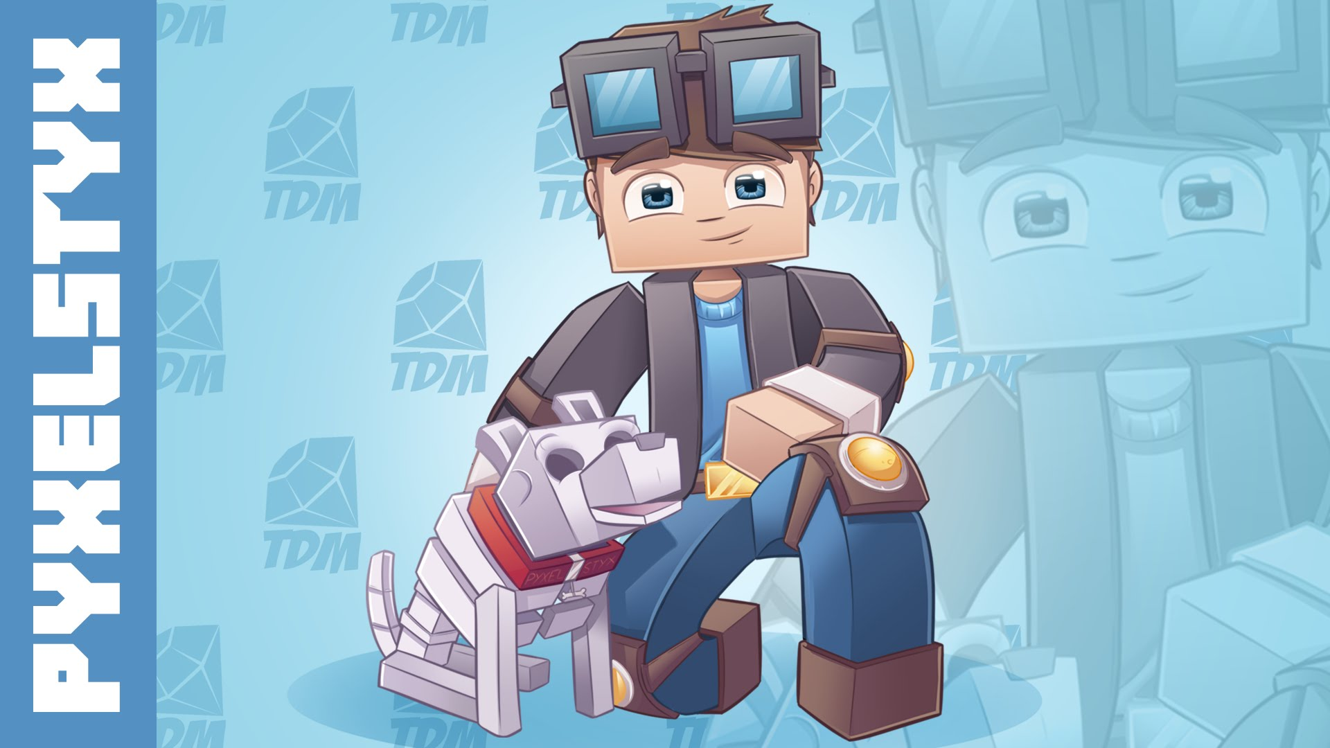 Minecraft SpeedART   TheDiamondMinecart Lunchbox 1920x1080