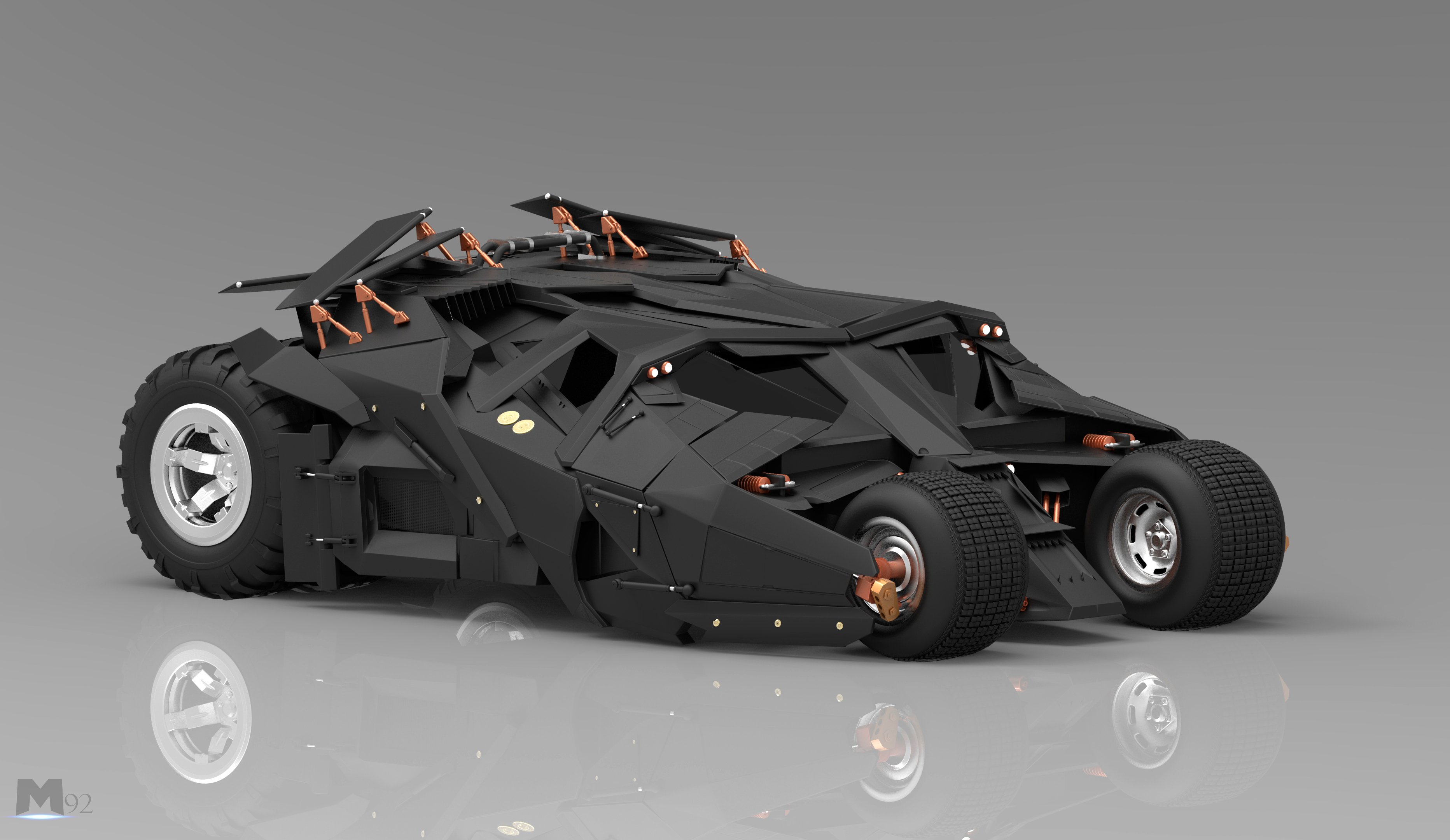 Batmobile Wallpapers WallpaperSafari