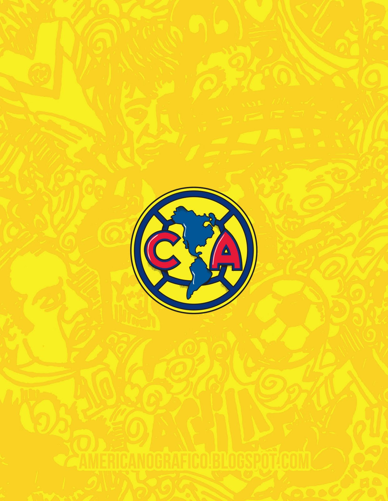 Aguilas del america wallpapers HD   Imagui 1241x1600