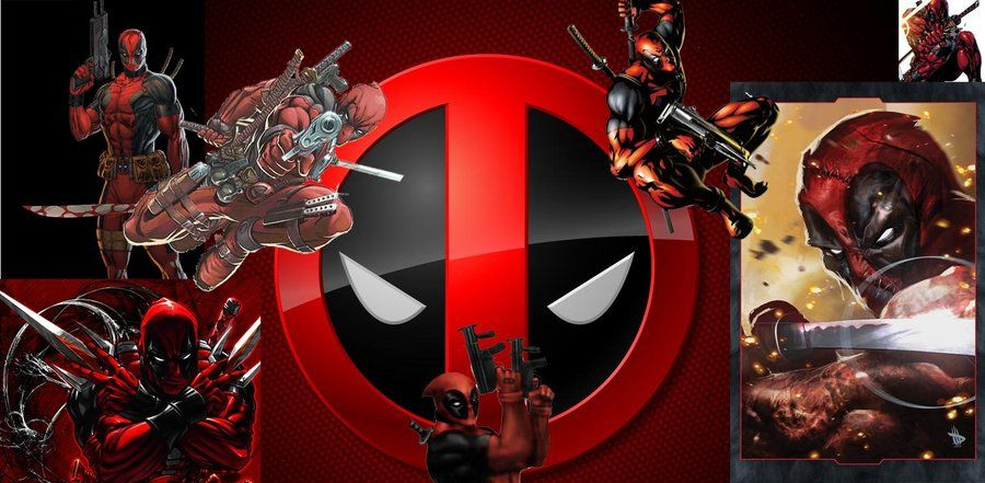 Deadpool wallpaper 900x441