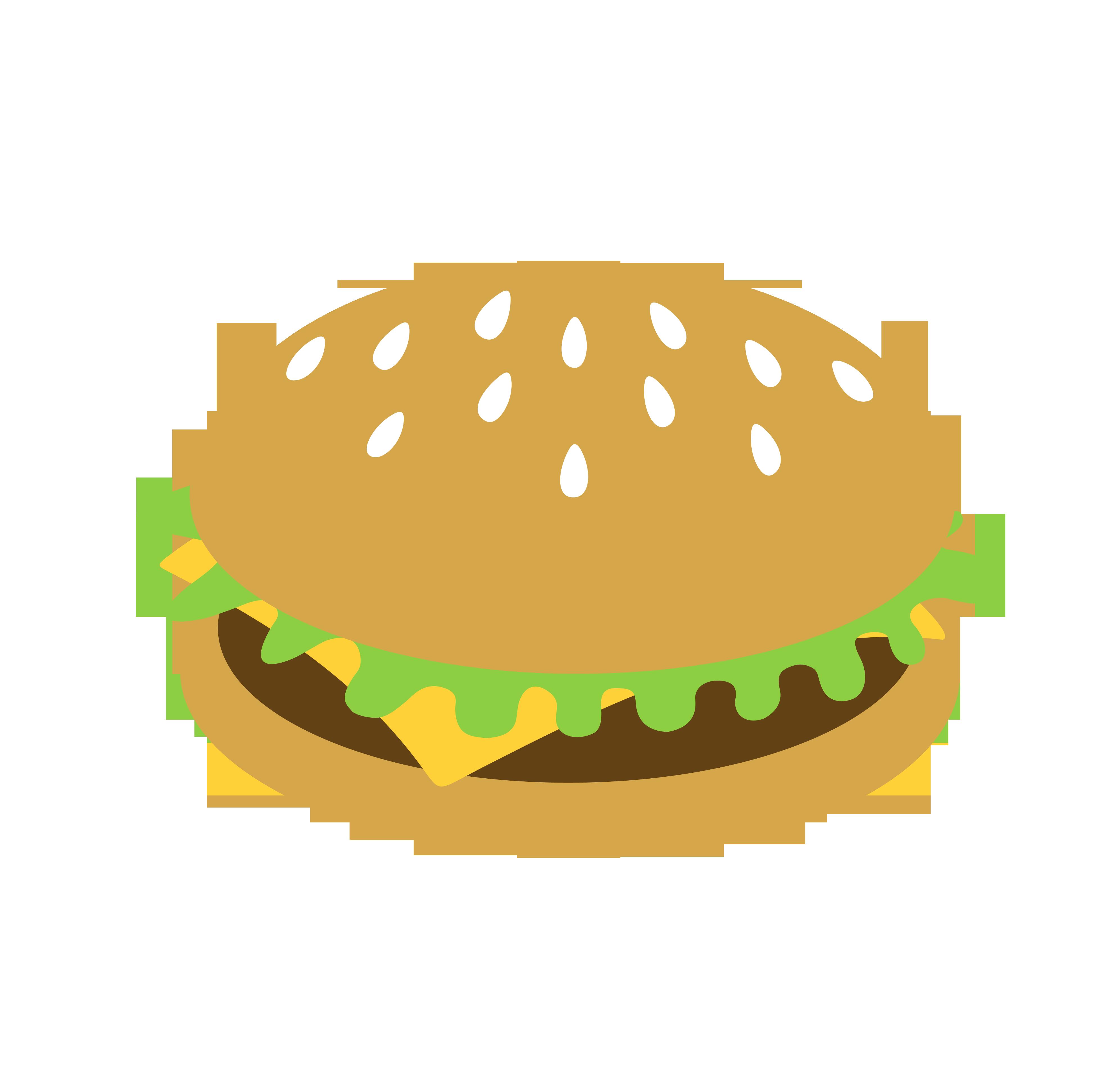 cartoon hamburger wallpaper - photo #17