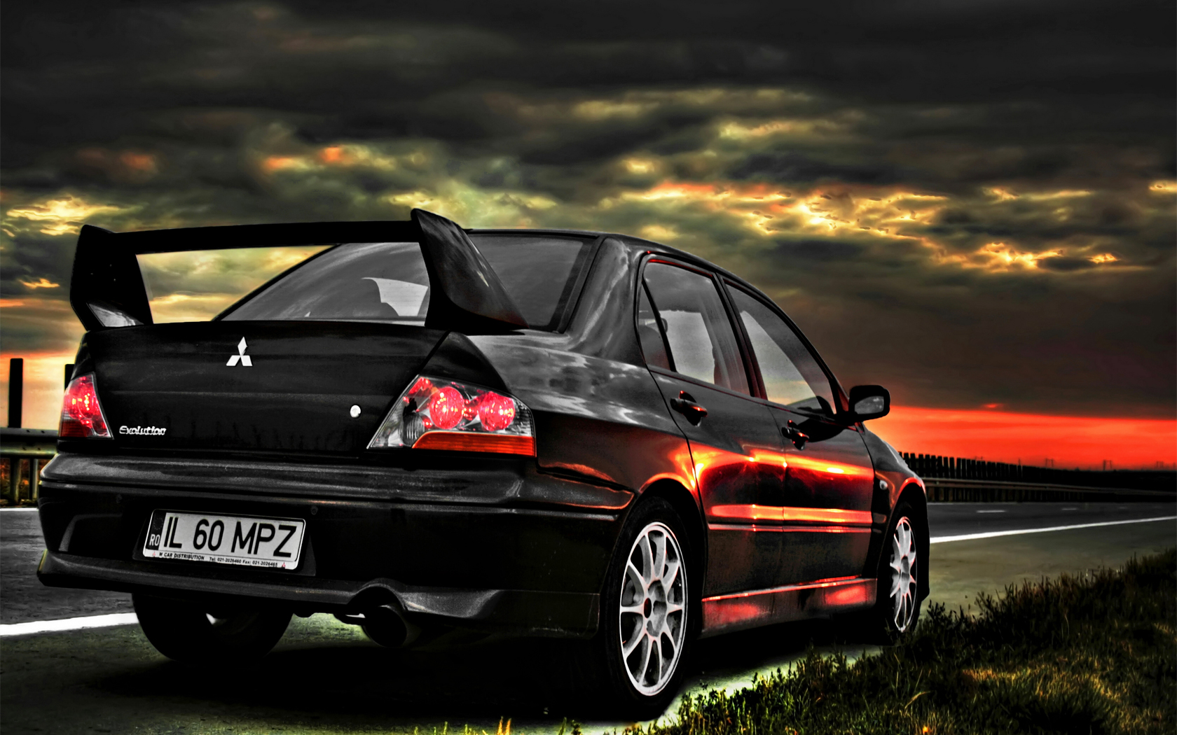 Mitsubishi Evo HD Wallpaper  WallpaperSafari