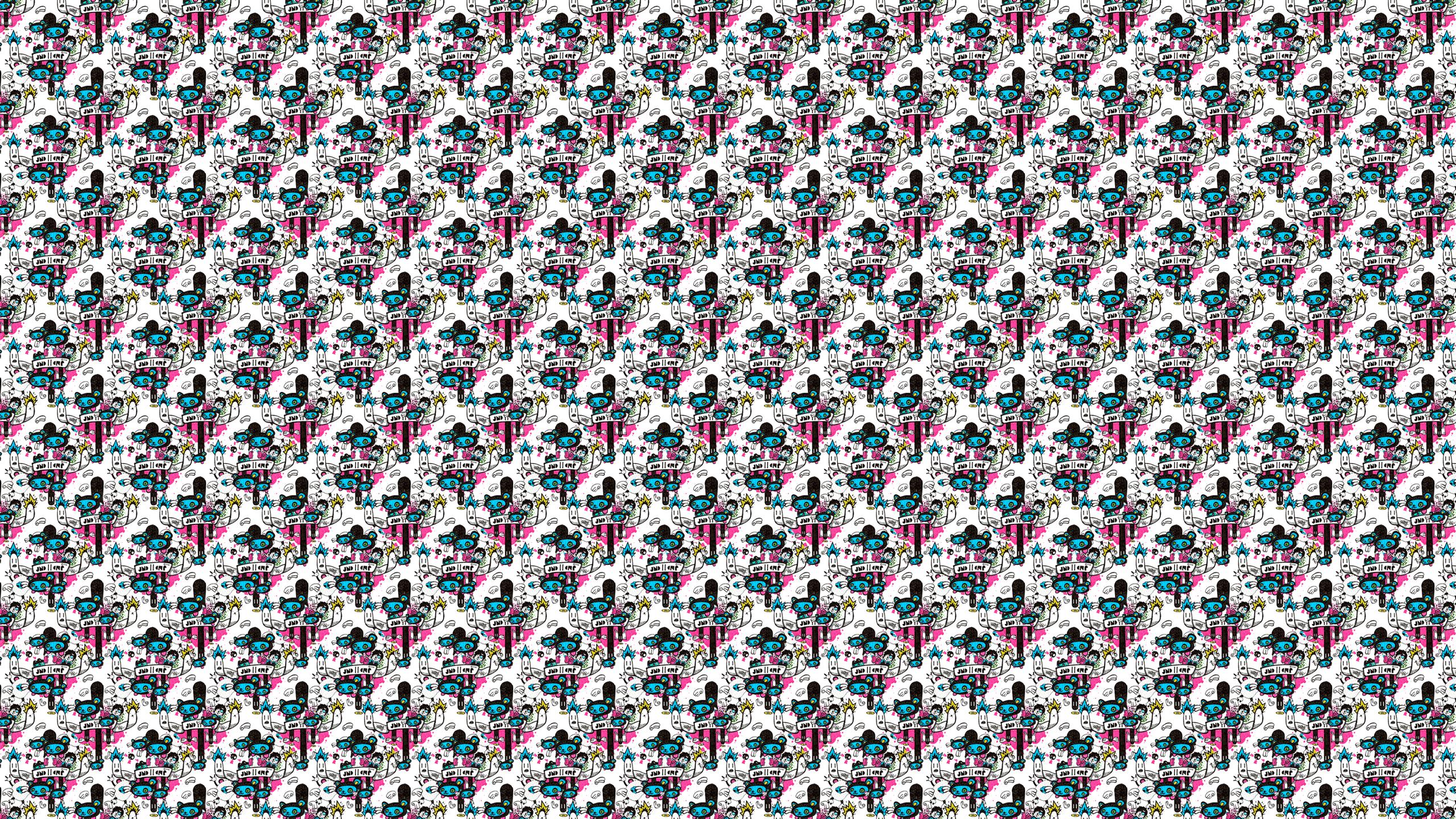Installing this Cute Kawaii Droppers Desktop Wallpaper is easy Just 2560x1440