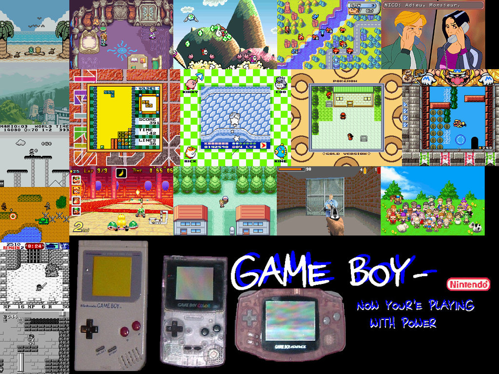 Game Boy Wallpaper by h0st493 18 on deviantART 1024x768