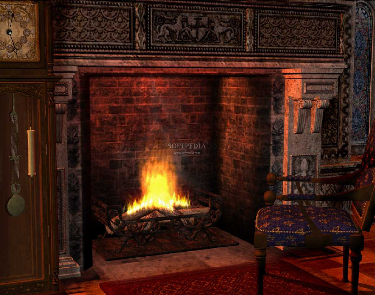Fireplace Animated Wallpaper   The Gothic Fireplace Animated Wallpaper 1206x949