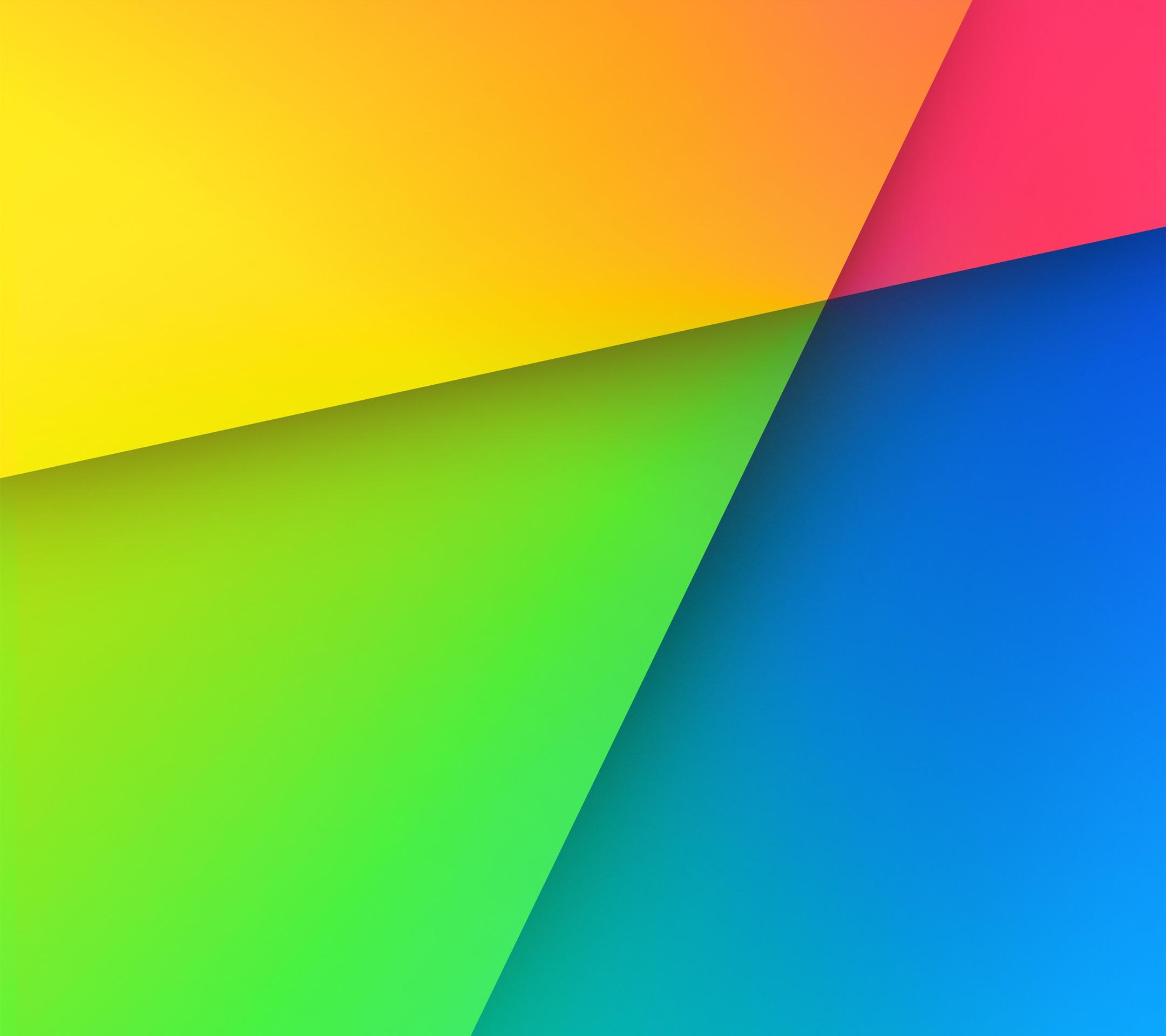 Download Set Official Default Wallpapers of Nexus 7 2013 in your 2160x1920
