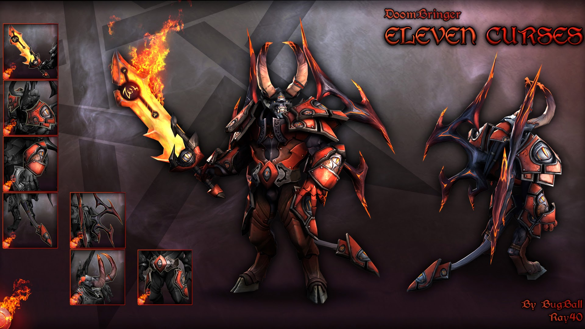 lucifer the doom dota 2 hero hd wallpaper image picture 1920x1080 5k 1920x1080