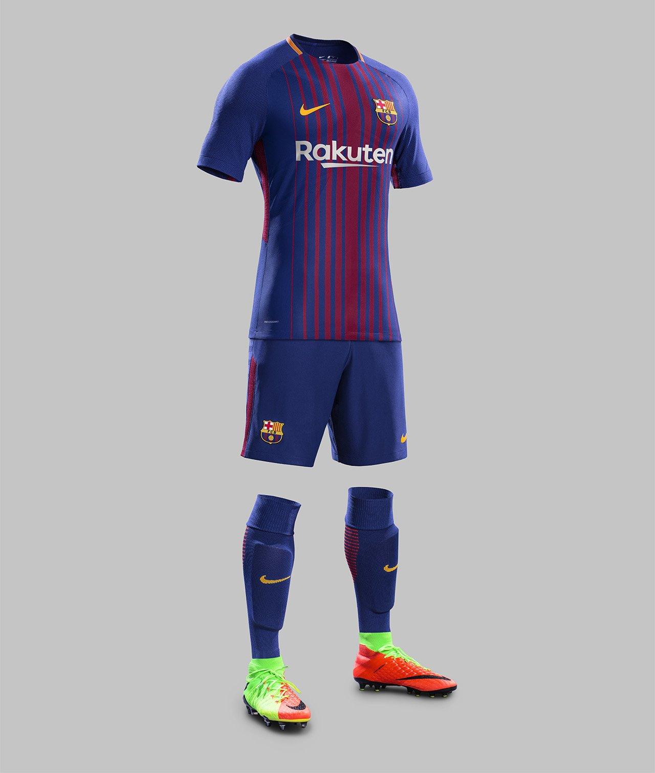 67e8df26f6f Camisas do FC Barcelona 2017 2018 Nike Mantos do Futebol 1280x1512