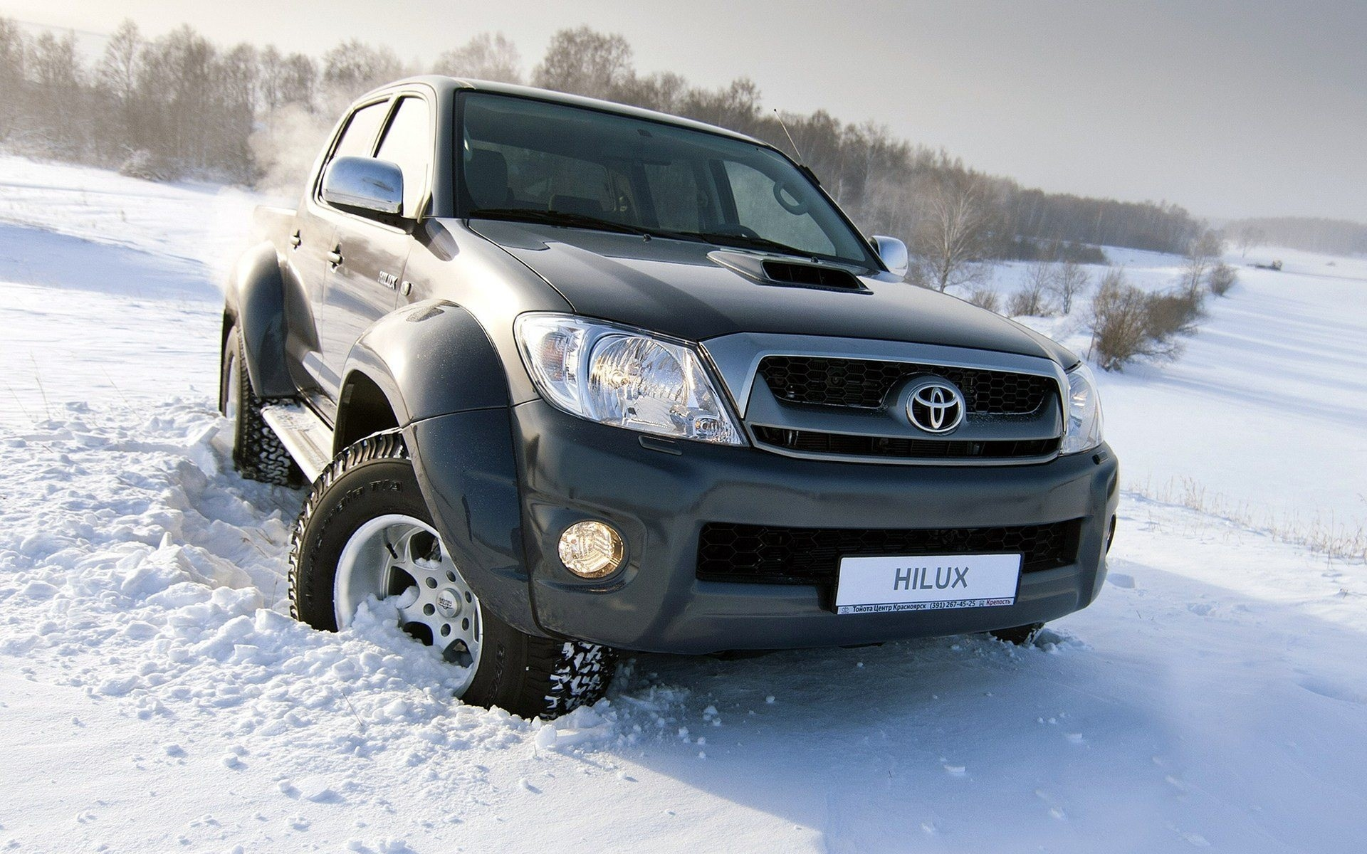 New Toyota Hilux Wallpaper   Toyota Hilux 504305   HD Wallpaper 1920x1200