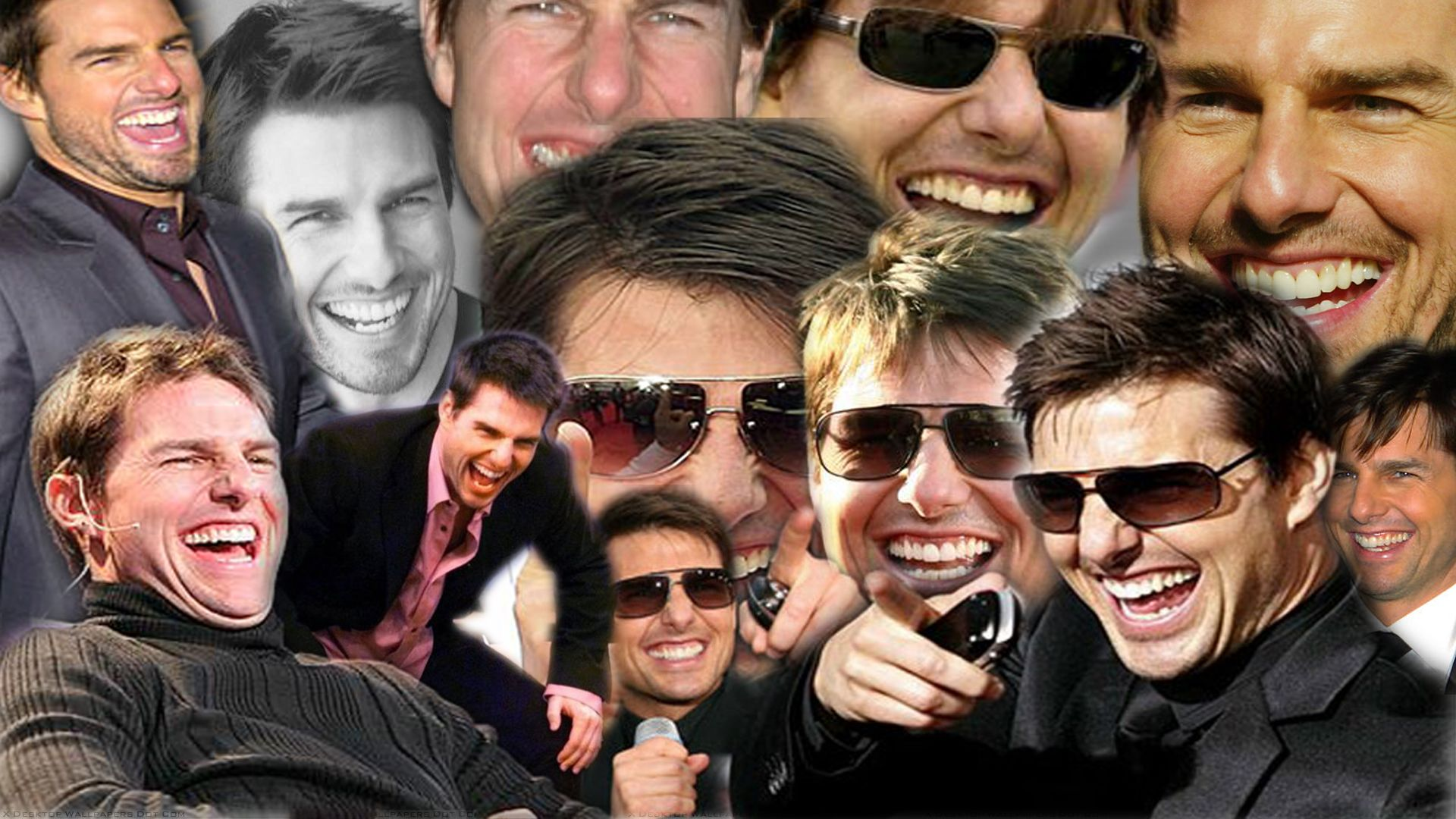 Tom Cruise Laughing HD Wallpaper 1920x1080 ID45629 Happy 1920x1080