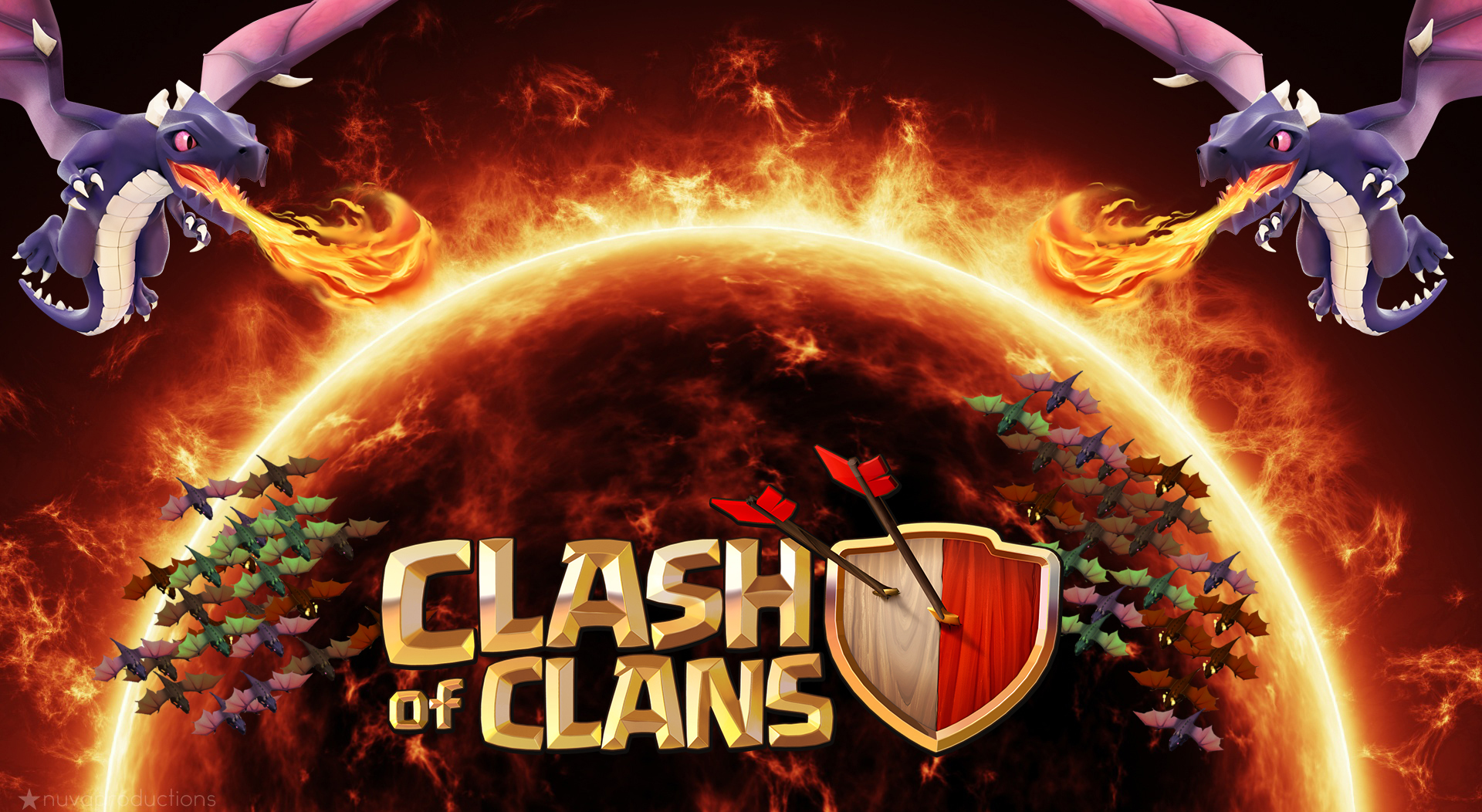 Clash Of Clans Wallpapers WeNeedFun 1920x1052