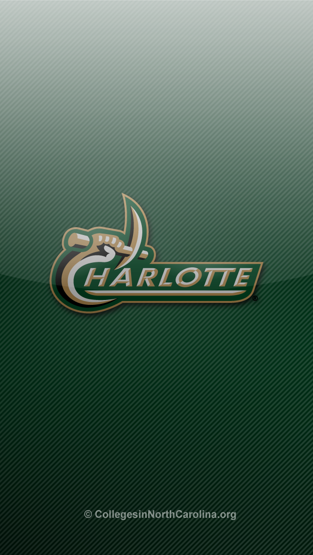Unc Wallpaper For Iphone Unc charlotte 49ers iphone 5 640x1136