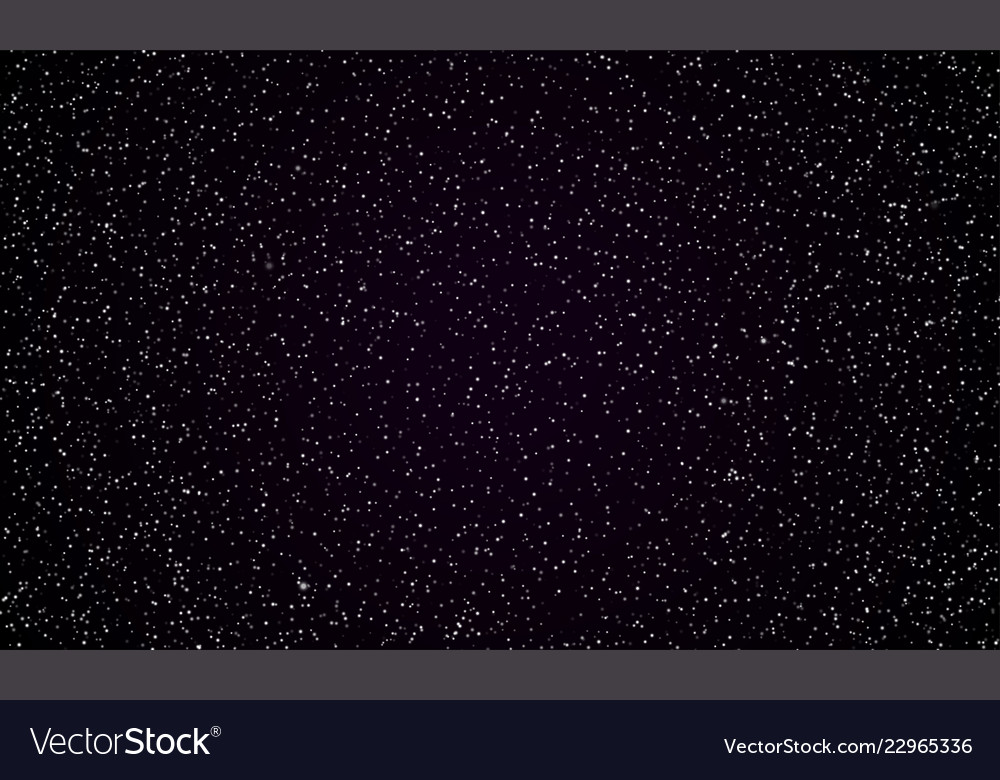 Starry sky stars twinkle space background Vector Image 1000x780