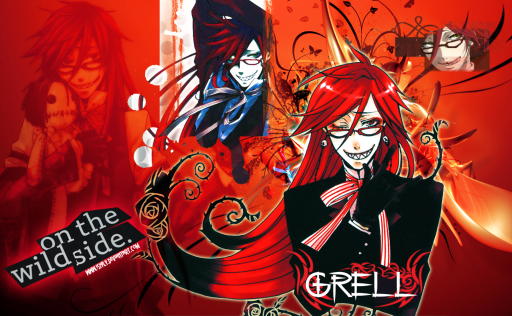 Grell Sutcliff wallpaper by Ishily 1024x632