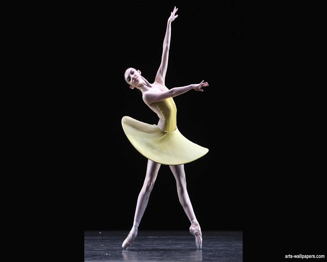Ballet Wallpaper Art Print Poster Paintings 1280x1024
