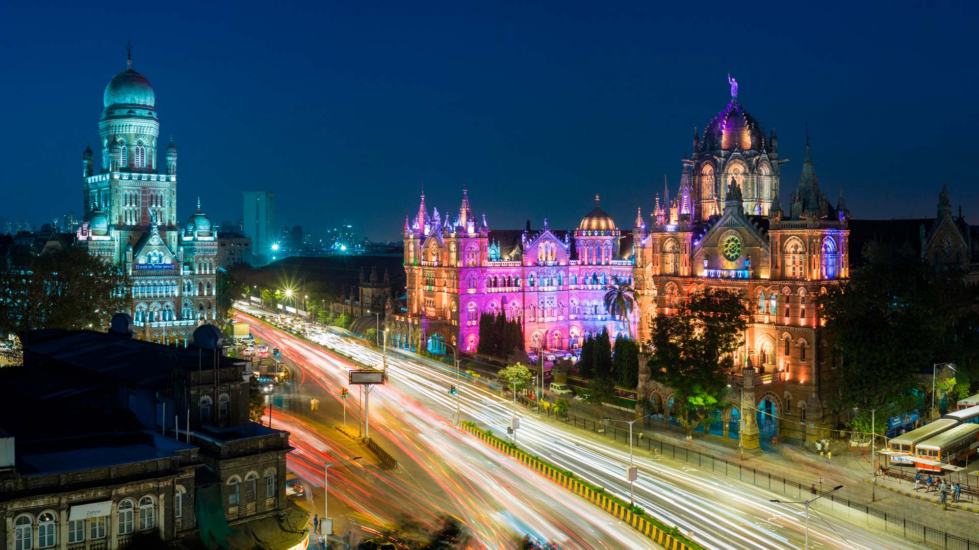 CST Mumbai Bing Wallpaper Download 1920x1080