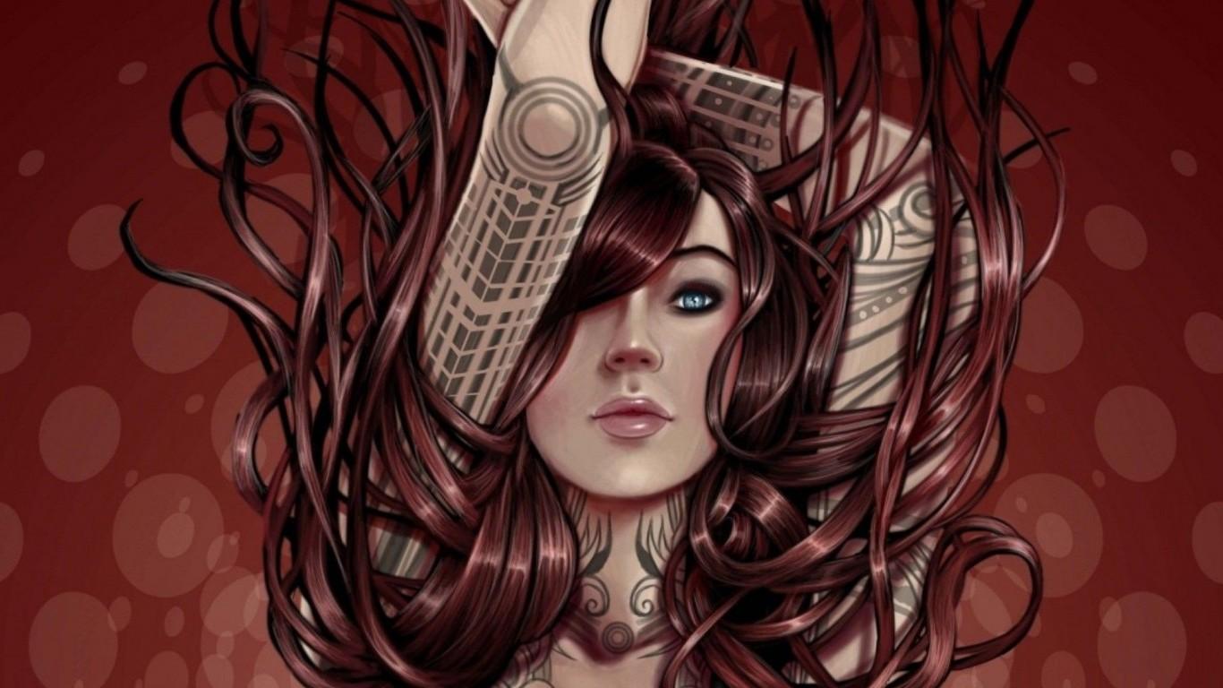 50 3d Fantasy Art Wallpapers Women On Wallpapersafari